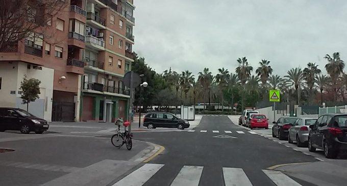 Finalitzen les obres d'obertura del carrer de Doctor Olóriz