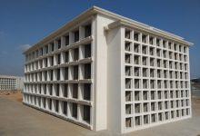 Més nínxols senzills i columbaris al Cementeri General