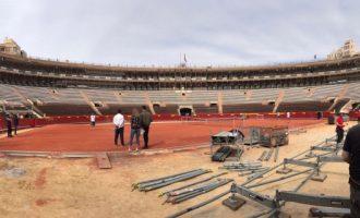 La Diputació de València encoratja a l'equip espanyol de tennis en les hores prèvies a la Copa Davis