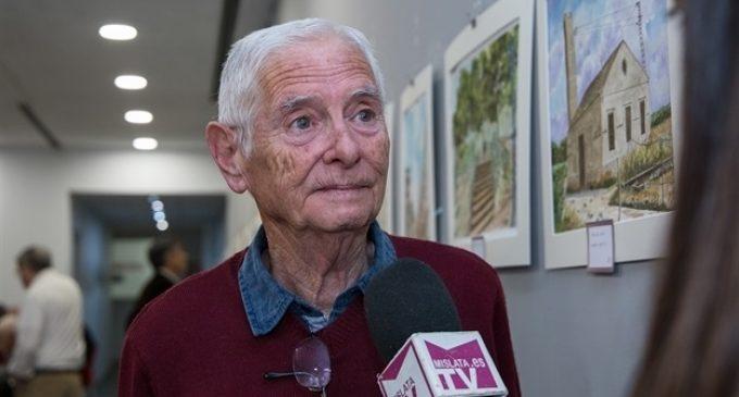 La Llar del Sud exposa una col·lecció de pintures d'Antoni Arranz sobre l'evolució de la ciutat