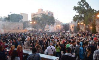 El 1 de Mayo se celebra en Burjassot con degustación de embutido para todo el municipio