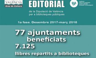 El fons bibliogràfic de la Diputació subministra més de 7.000 llibres a les biblioteques valencianes
