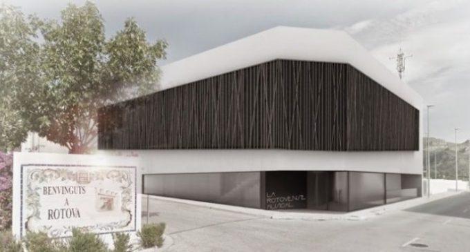 La Diputació ajudarà a Ròtova en la construcció de la Casa de la Música