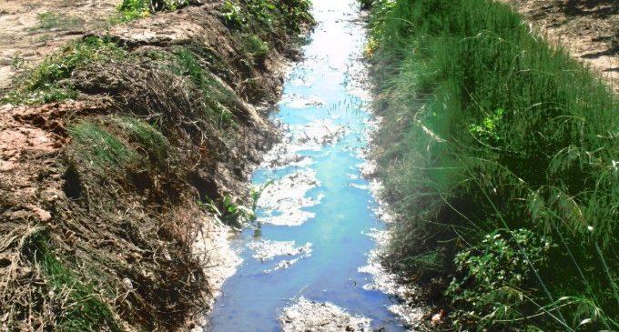 Neteja en els desguassos municipals d'Alfafar