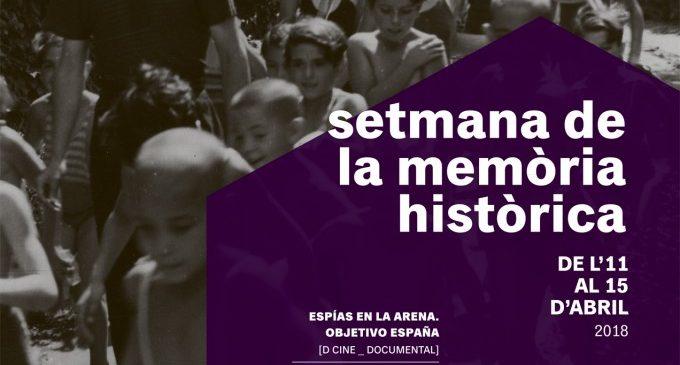 Benetússer organitza la primera  Setmana de la Memòria Històrica