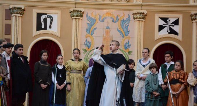La festivitat de Sant Vicent Ferrer inunda els carrers de València de celebració