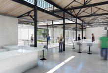El nuevo Mercado del Grao, un espacio abierto a la ciudad