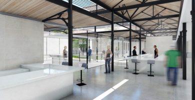 El nou Mercat del Grau, un espai obert a la ciutat