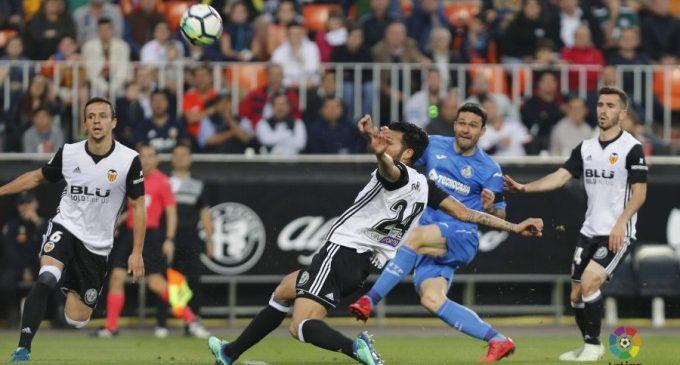El València CF lluita fins al final, però pateix una injusta derrota davant el Getafe (1-2)