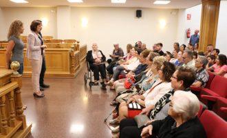 Tres dones centenàries reben l'homenatge de Quart de Poblet