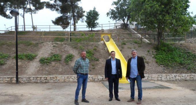 El parque 'La Torre' de Albaida mejora sus condiciones con la ayuda de la Diputació
