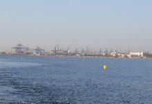 S'instal·la, per primera vegada, un canal de natació en la platja de la Malva-rosa
