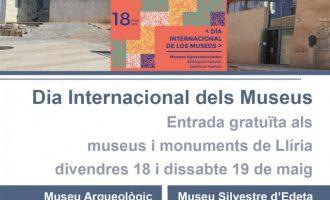 Llíria se suma a la commemoració del Dia Internacional dels Museus