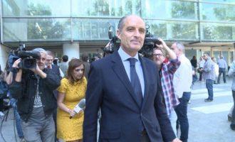 Anticorrupción pide procesar a Camps por dos delitos en la F1