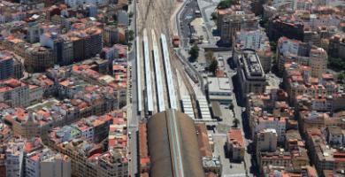 Parque Central: así quedará el entramado ferroviario de València