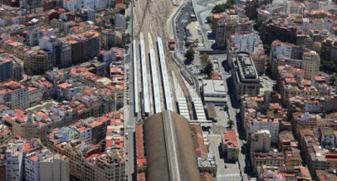Parc Central: així quedarà l'entramat ferroviari de València