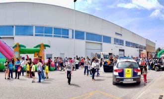 Més de mil persones assisteixen a la jornada formativa de portes obertes del Dia de l'Educació Viària a Alboraia