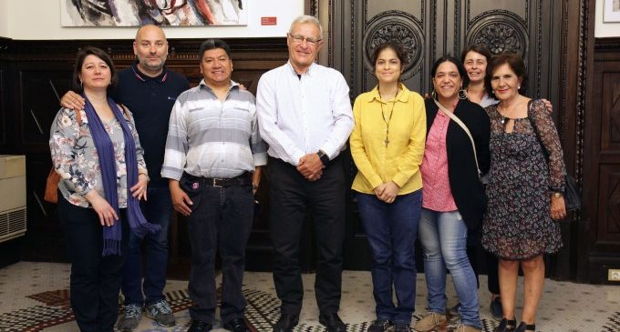 Ribó respalda la labor de las asociaciones sindicales de Guatemala
