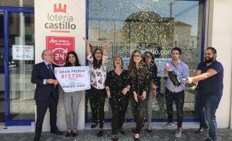 Un veí d'Alaquàs guanya 812.000 euros en la Primitiva