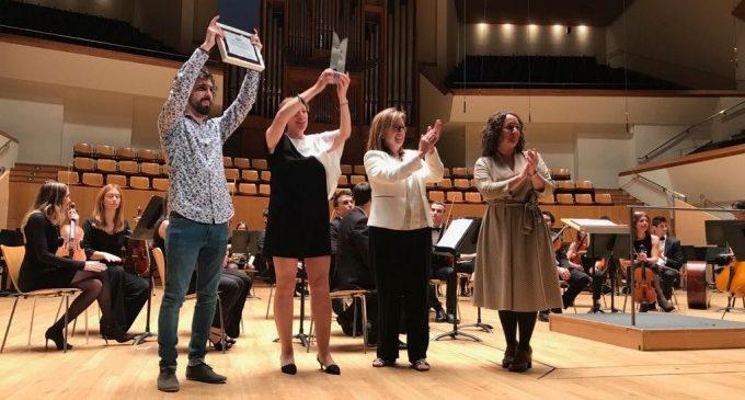 La Unió Musical de Higueruelas s'alça amb el primer premi de la Secció Tercera del Certamen de Bandes Diputació de València
