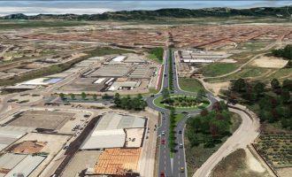 S´inicien les obres de la nova rotonda d'accés nord a Gandia i al polígon Alcodar