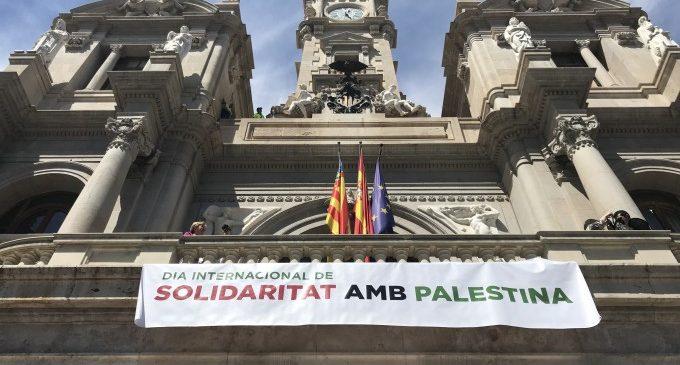 València expressa la seua solidaritat amb Palestina