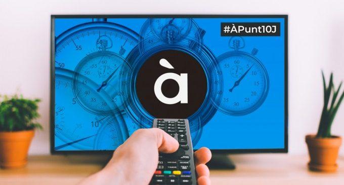 À Punt comenzará sus emisiones el 10 de junio