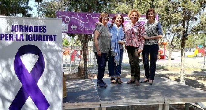 Més de 300 dones de Mislata celebren en La Canaleta la seua jornada de convivència