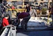 Comença l'exhumació de la Fossa 128 del cementeri de Paterna