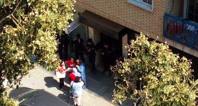 Desallotgen el pis del jihadista que van detenir a València