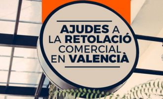 Picassent convoca ayudas para la rotulación comercial en valenciano