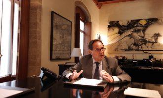 """Soler: """"Voy al Consejo Fiscal a reivindicar la mejora de la financiación con el mandato de todos los valencianos, y eso me da mucha fuerza"""""""