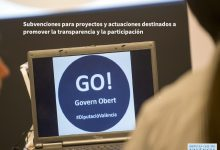 La Diputació finança el foment de la transparència, participació ciutadana i informació pública