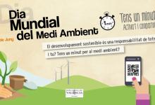 La Diputació de València, compromesa amb el desenvolupament sostenible en el Dia Mundial del Medi Ambient