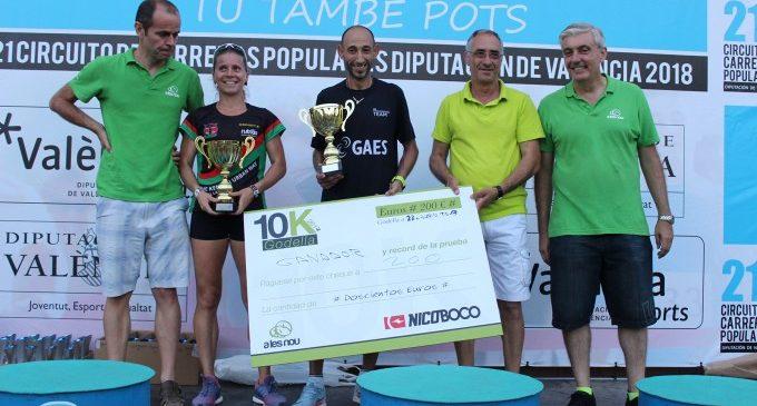 Landin y Ahouchar (revalidando título y batiendo récord) se imponen en la XVI 10k Godella Nicobocco