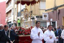 Un tapís floral personalitzat per a celebrar el Corpus de València 2019