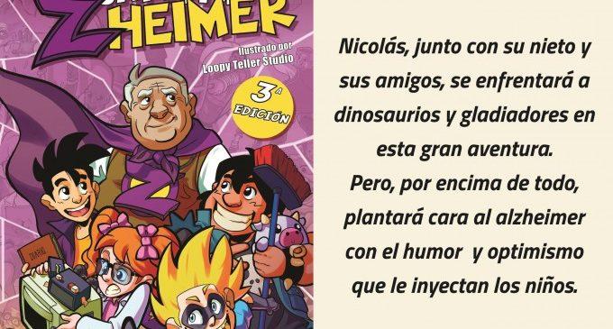 "Acercar el alzheimer a través de las aventuras de un superhéroe con ""El Capitán Zheimer"""