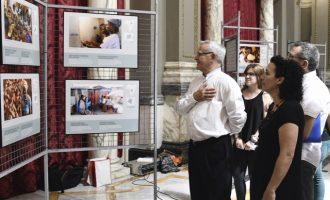 Ribó destaca la resposta ciutadana davant l'arribada dels refugiats