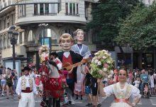 Pólvora, música i tradició en el tret d'eixida de la Gran Fira de València 2019