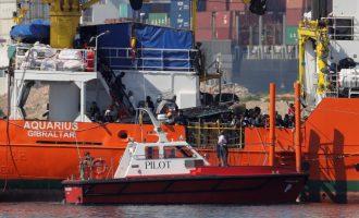 El operativo 'Esperanza del Mediterráneo' completa el desembarco de 630 personas en el Puerto de València