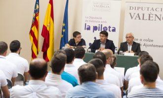 La Diputació invertirà 2 milions d'euros per a recuperar trinquets i espais vinculats a la pilota