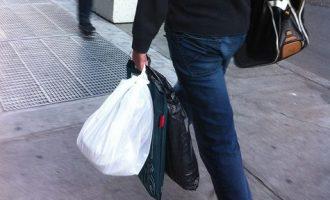Las bolsas de plástico se pagan a partir del 1 de julio