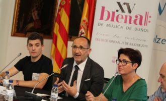 La Diputació se implica en la confección de las 25 propuestas artísticas de la XV Bienal de Buñol