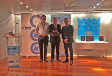 Llíria recibe por el proyecto SimbioTIC el premio AEE Spain Chapter