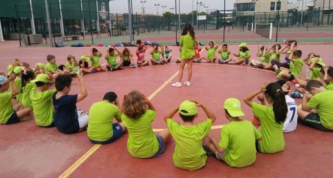 Tot preparat per a l'Escola Esportiva d'Estiu d'Alfafar 2018