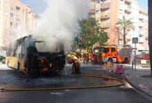 Es crema un autobús a Quart de Poblet