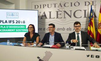 La Diputació aprova altres 35 milions per a inversions sostenibles en els 266 municipis valencians
