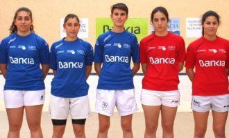 Una aposta per les dones en el món de la pilota valenciana