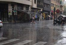 València en alerta, hui, per fortes pluges i tempestes