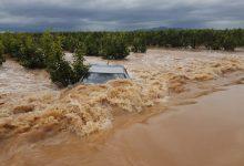 Las lluvias torrenciales dejan más de 100 litros en València